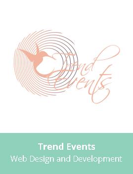 Trend Events Web Design Development