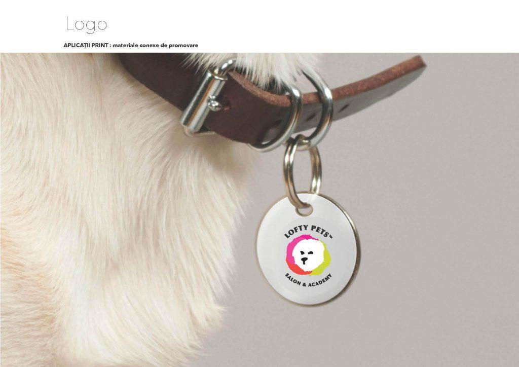 Materiale promovare: design si continut pentru Lofty Pets, client agentia Connect Media.