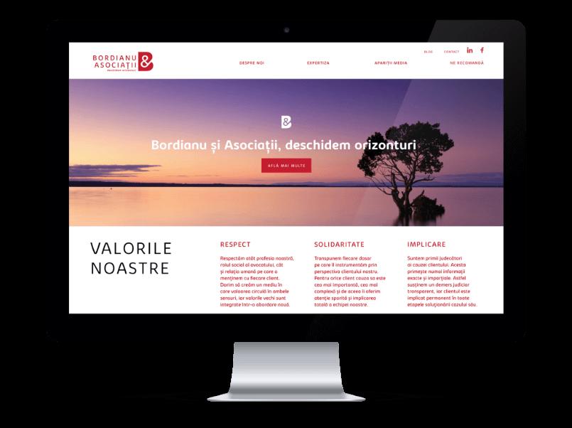 Vrei un site de prezentare curat, creativ si functional? La agentia de marketing online Connect Media il gasesti.